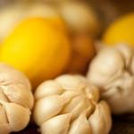 Лимон и чесън за здрави венци