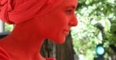 червена жена