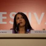 Салма Хайек е лице на кампания на УНИЦЕФ против тетанус