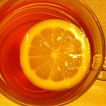 Чай лайка с лимон срещу изпотяване