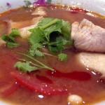 Здравословна пъстра пилешка супа