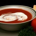 Здравословна доматена супа с мляко