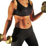Повече мускули се правят с по-леки тежести