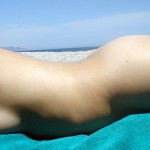 Лента за ръка предупреждава за слънчево изгаряне