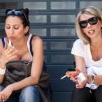 Цигарите намаляват бюста