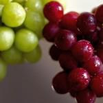 Комбинация от червено и бяло грозде топи мазнини