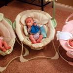 Жена роди еднояйчни тризнаци
