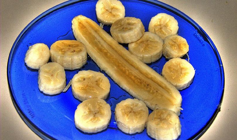 банани с мед