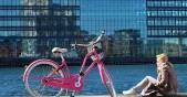 с колело в Копенхаген