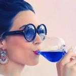 Създадоха синьо вино