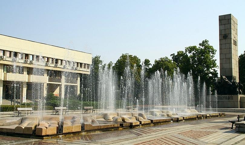 фонтани във Видин