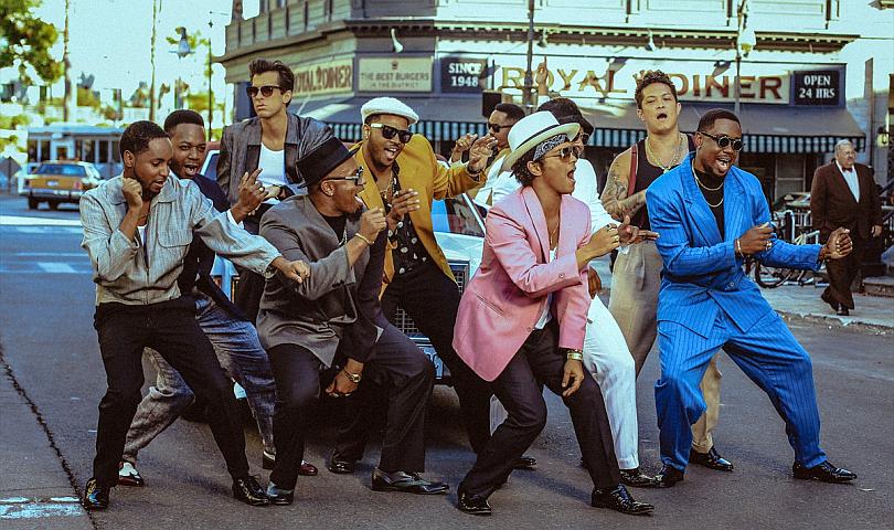 Uptown Funk на Mark Ronson и Bruno Mars