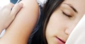 жена спи
