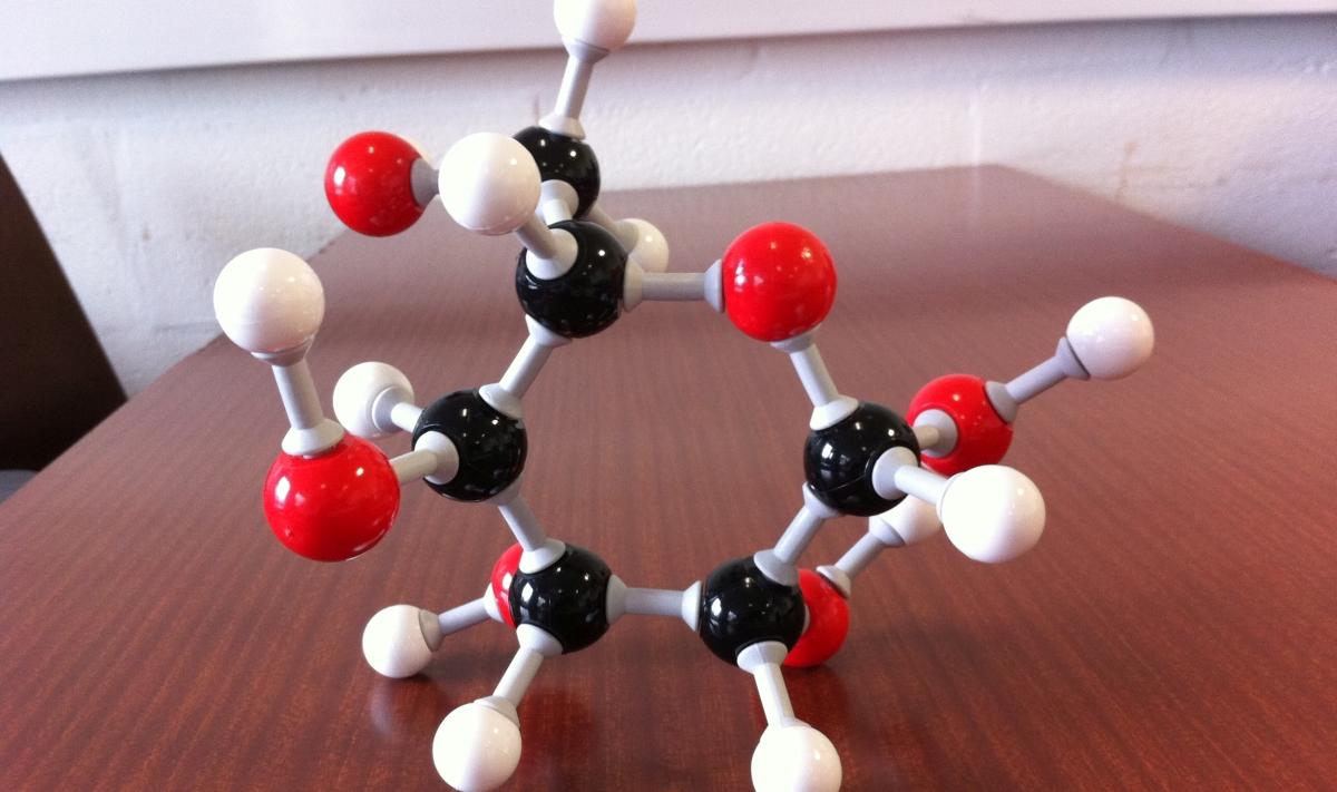 молекула на глюкозата