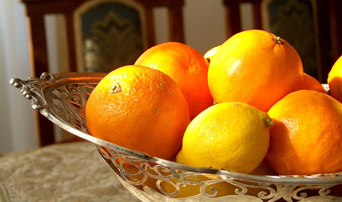 портокали и лимон