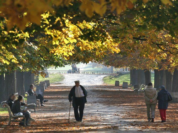 разходка в парк