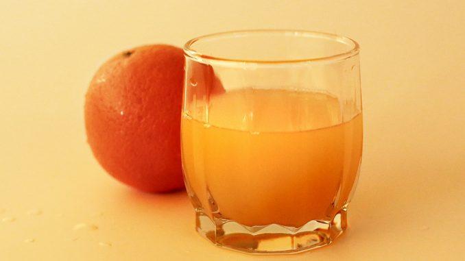 портокал и портокалов сок