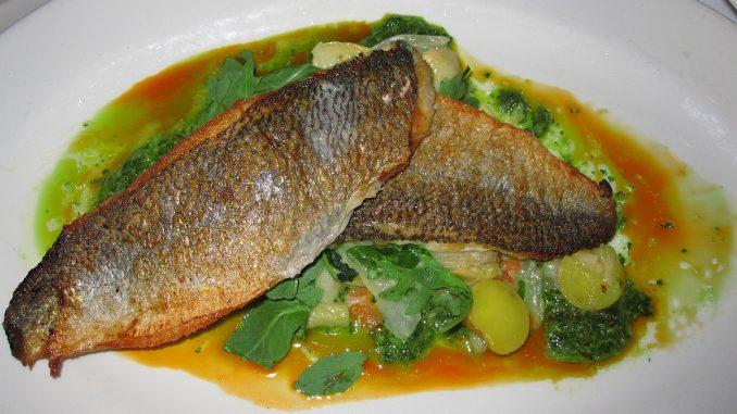 риба със спанак
