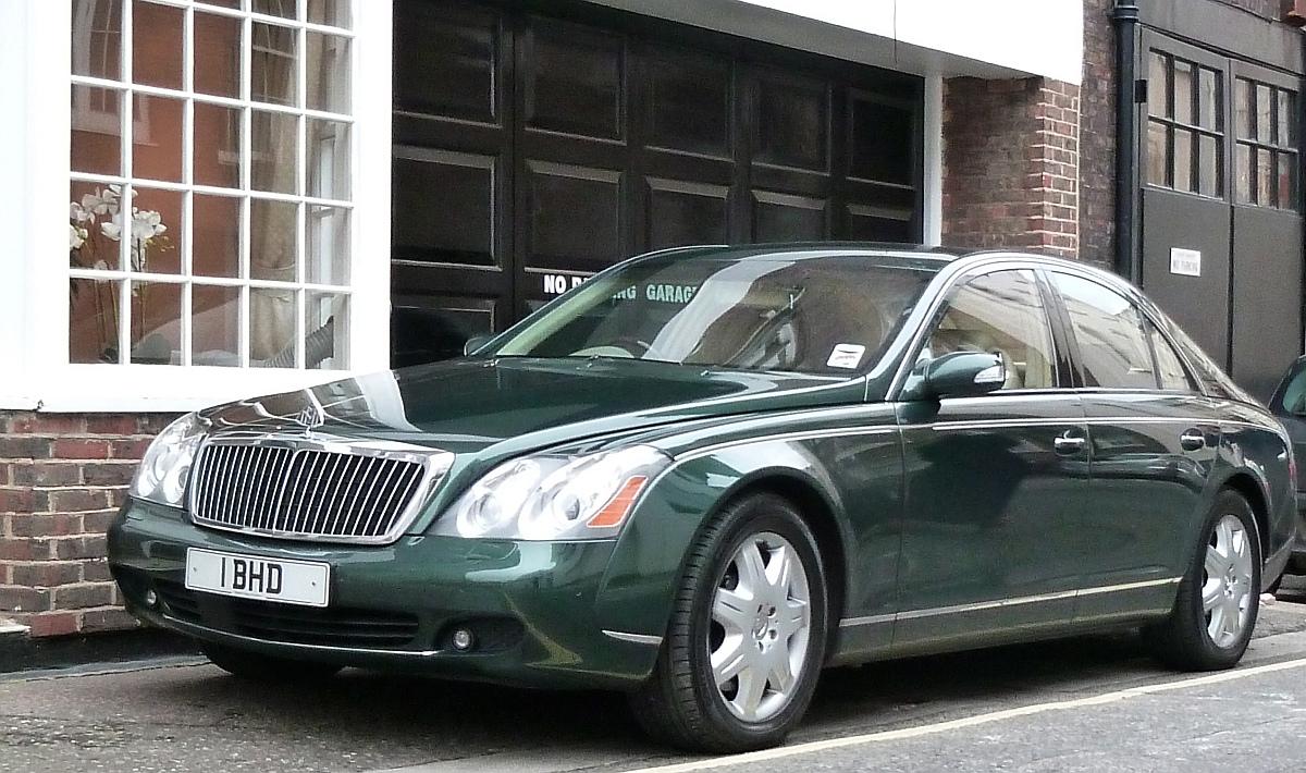 зелена супер кола