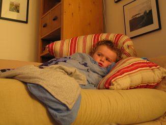 дете с грип