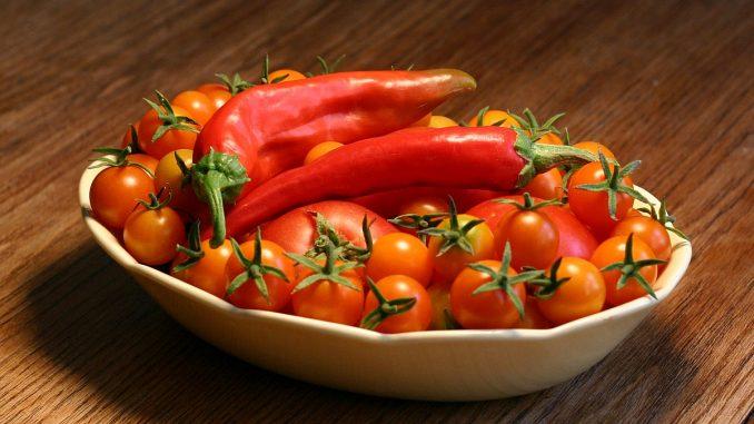 чушки и домати