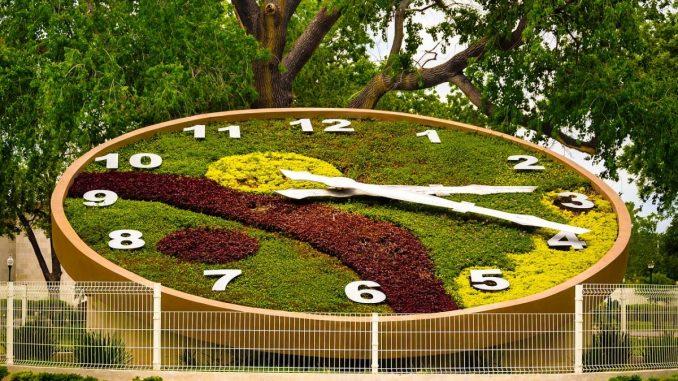 градински часовник