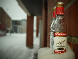 водка през зимата