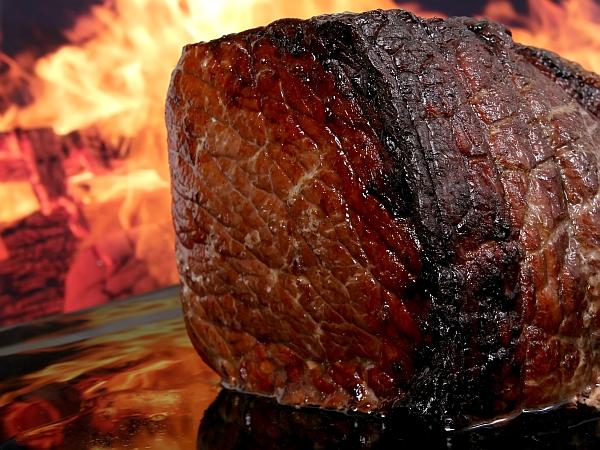 печено месо