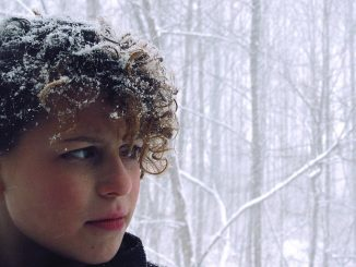 коса със сняг