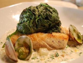 ястие от спанак и риба