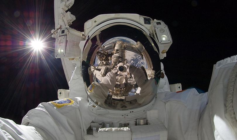 селфи в Космоса