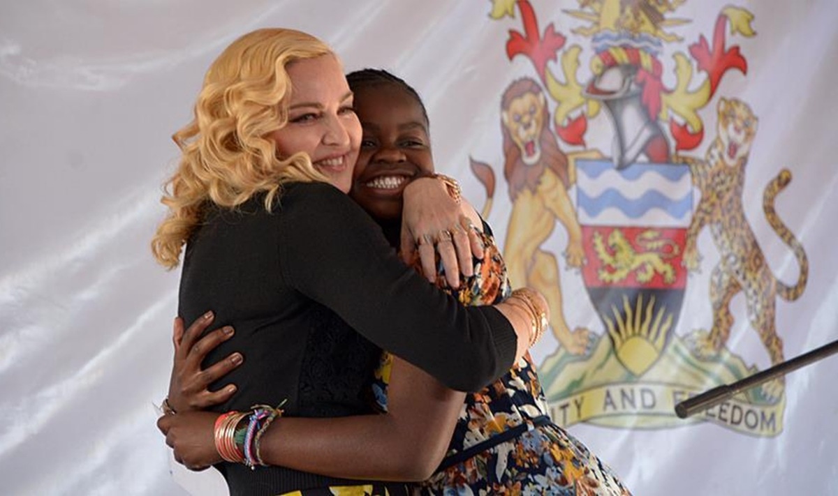 Мадона в Малави