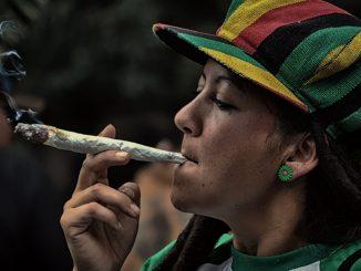 пушене на марихуана