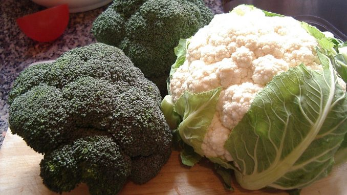 карфиол и броколи
