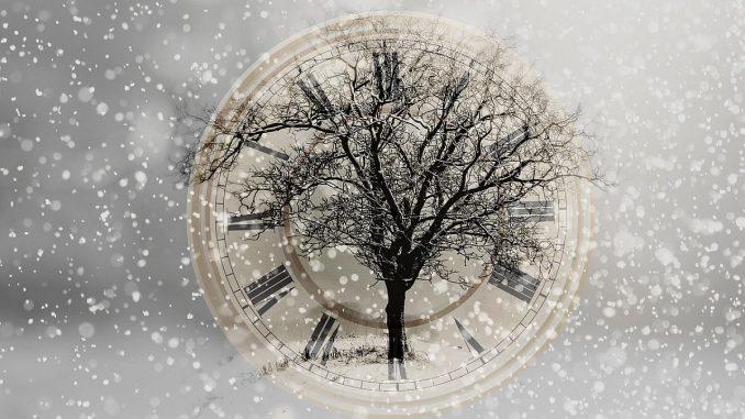 часовник и зима