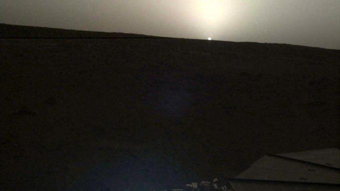 изгрев на Марс