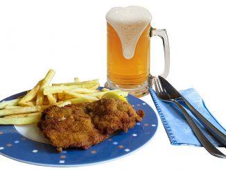 месо и бира