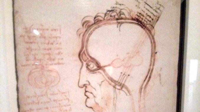 скица на Леонардо да Винчи