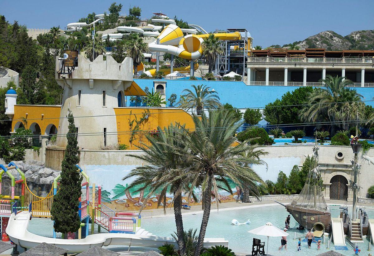 аква парк Родос