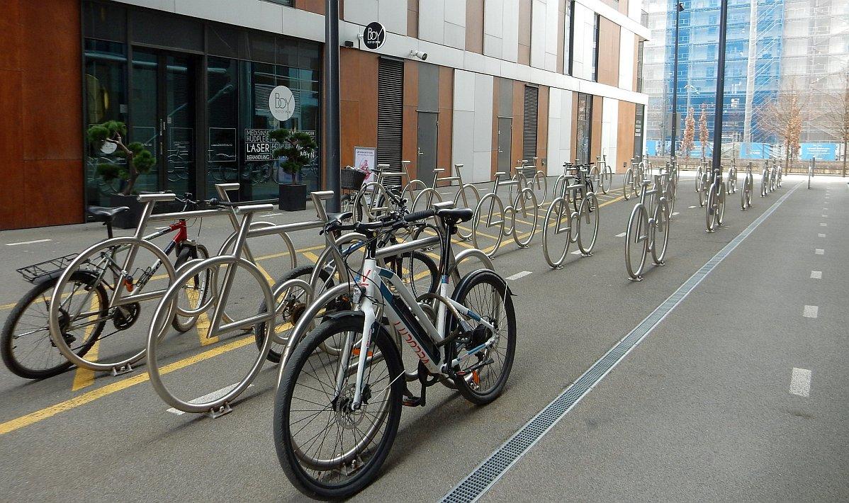 паркинг за велосипеди в Осло