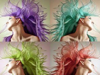 цветна коса