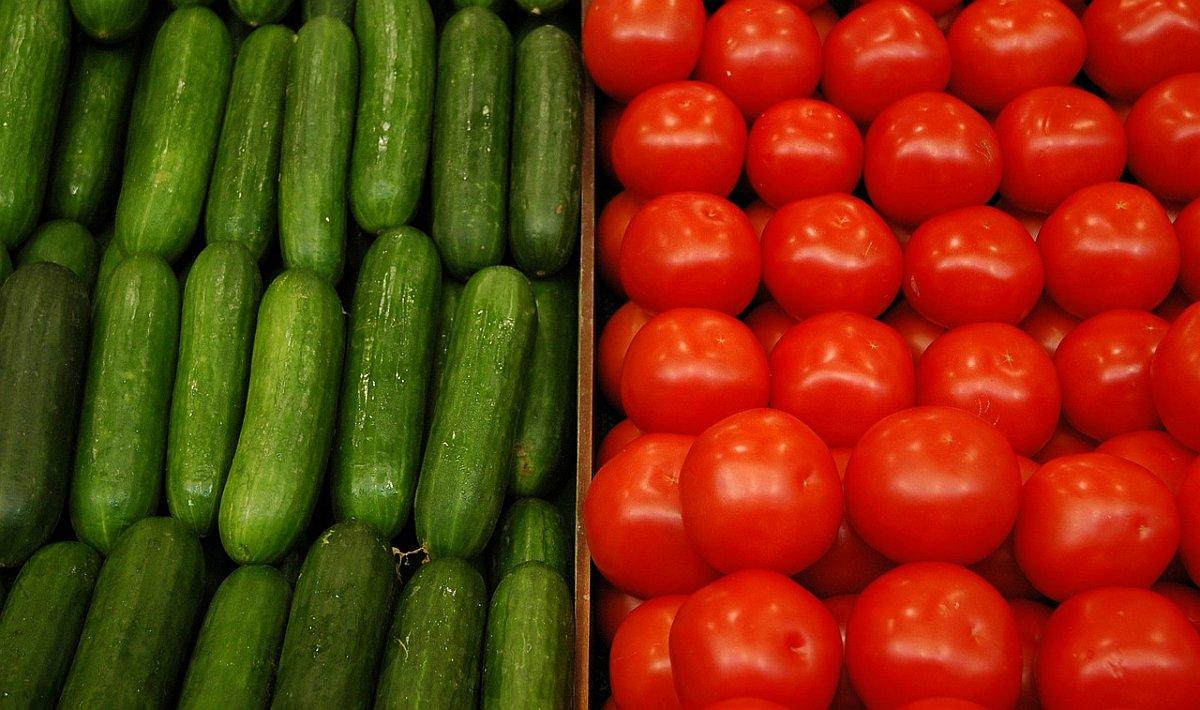 краставици и домати