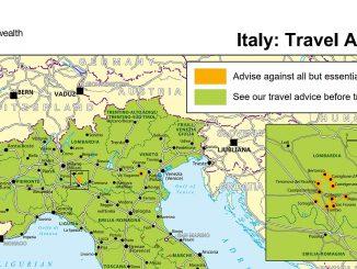 коронавирус в Италия