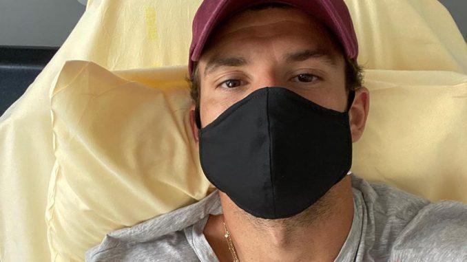 Григор Димитров с маска